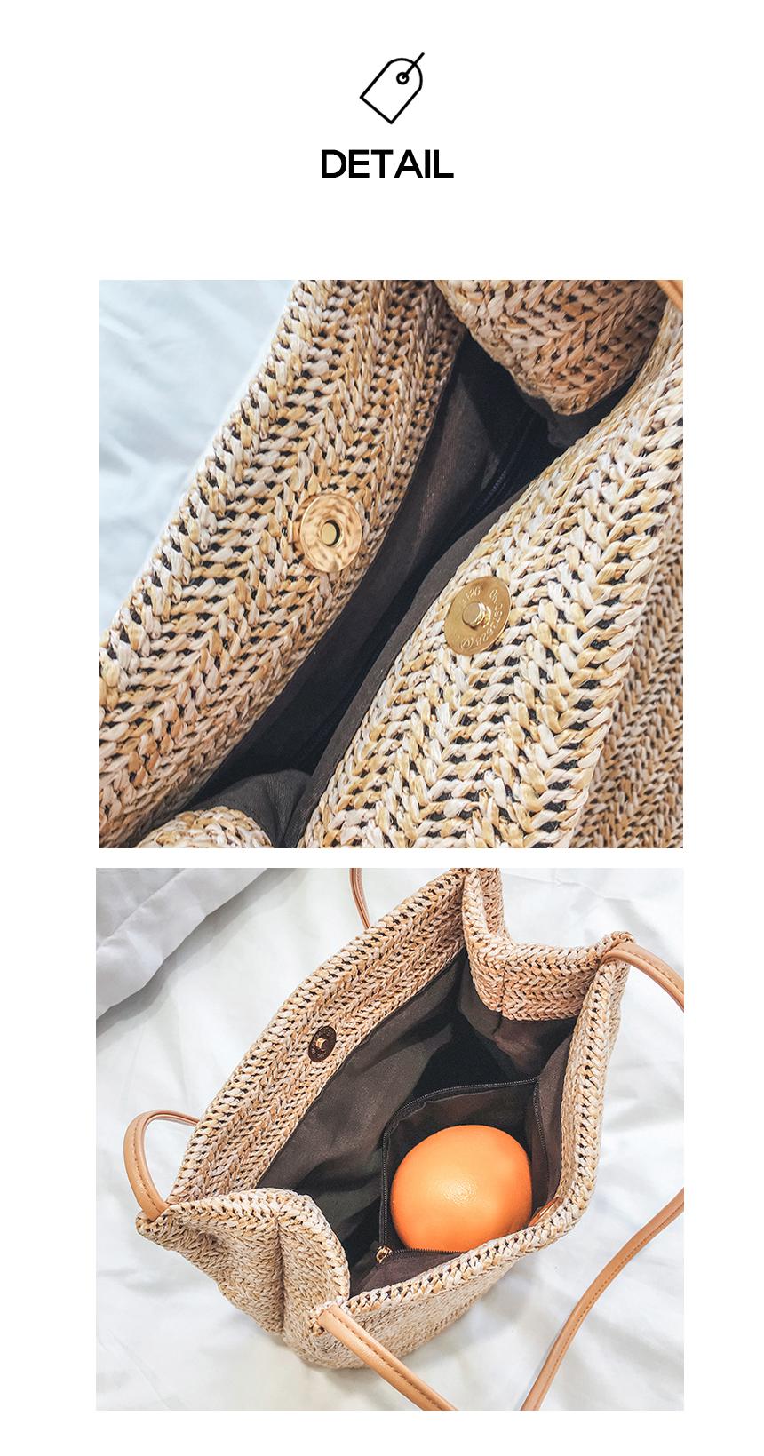 라탄백 왕골가방 비치가방 밀짚가방 - 몽트노블, 9,790원, 계절백, 라탄백
